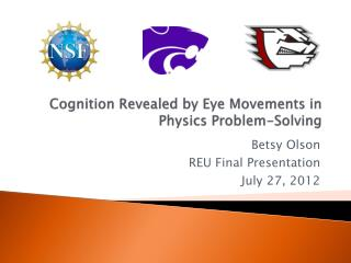 Cognition  Revealed by Eye Movements in Physics  Problem-Solving