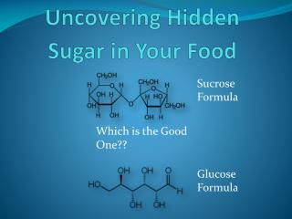 Uncovering  Hidden Sugar in Your Food