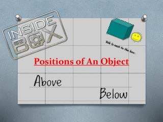 Positions of An Object