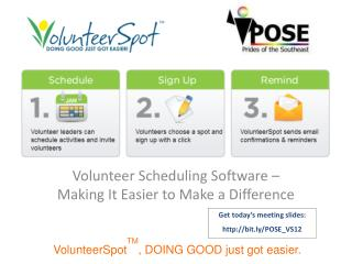 Volunteer Scheduling Software – Making It Easier to Make a Difference