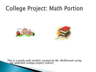 College Project: Math Portion