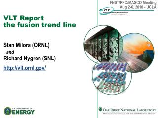 VLT Report the fusion trend line
