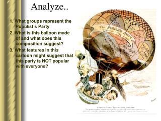 Analyze..