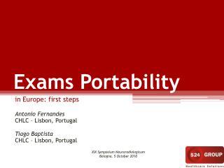 Exams Portability