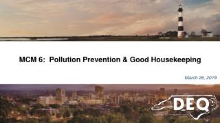 Environmental Awareness for Facility Operations