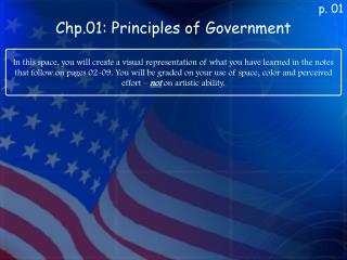 Chp.01: Principles of Government