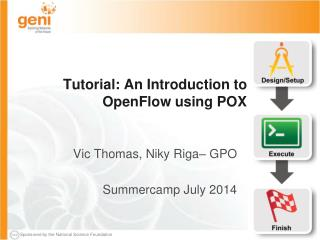 Tutorial: An Introduction to  OpenFlow  using POX