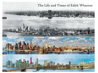 The Life and Times of Edith Wharton