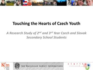 Touching the Hearts of Czech Youth