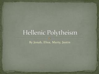 Hellenic Polytheism