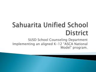 Sahuarita Unified School District
