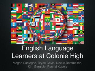 English Language Learners at Colonie High