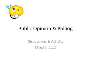 Public Opinion & Polling