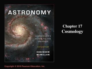 Chapter 17 Cosmology