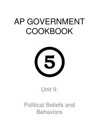 AP GOVERNMENT COOKBOOK