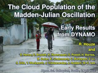 The Cloud Population of the Madden-Julian Oscillation