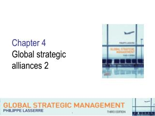 Chapter 4 Global strategic alliances 2