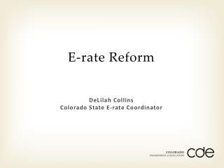E-rate Reform