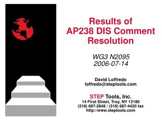 Results of AP238 DIS Comment Resolution