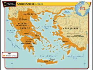 Ch  25 Geography and the Settlement of Greece