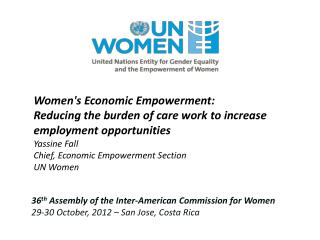 36 th  Assembly of the Inter-American Commission for Women