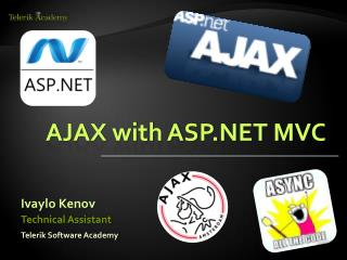 AJAX  with  ASP.NET MVC