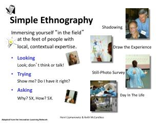 Simple Ethnography