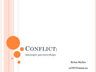Conflict :