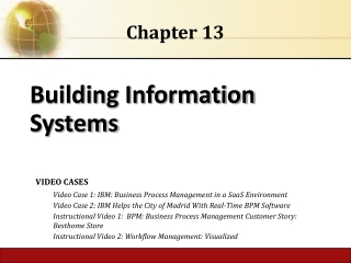 CHAPTER 13. INFORMATION SYSTEMS  CONTROL