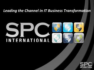 Leading the Channel in IT Business Transformation