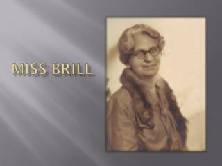 Miss Brill