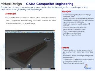 Virtual Design  | CATIA Composites Engineering