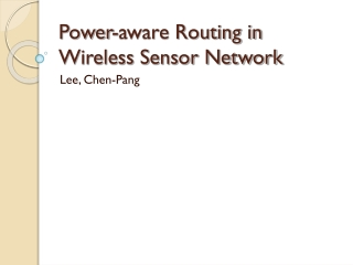 The Wireless Sensor Network Simulator