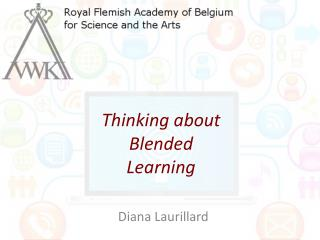Thinking about Blended Learning