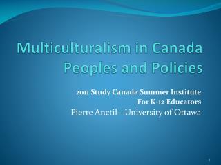 essay multiculturalism canada