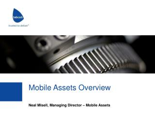 Mobile Assets Overview