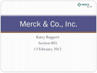 Merck & Co., Inc.