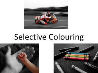 Selective Colouring