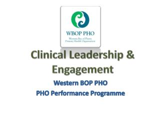 Clinical Leadership & Engagement