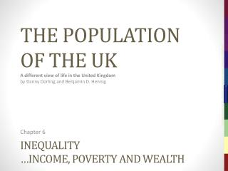 Inequality …income, poverty and wealth