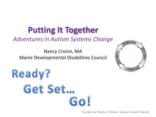 Funded  by Maine Children Special Health Needs