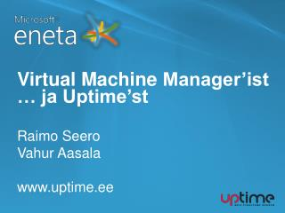 Virtual Machine Manager'ist … ja  Uptime'st