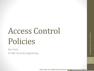 Mandatory Access Control and SE Linux