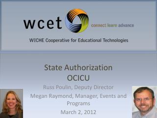 State Authorization OCICU