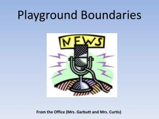 Playground Boundaries