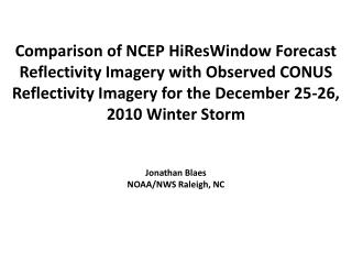 NCEP  HiResWindow  forecasts from 00 UTC 12/24