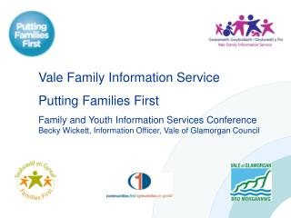 Vale Family Information Service Putting Families First