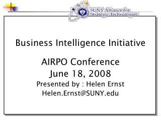 Business Intelligence Initiative