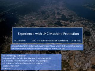 Risk with Energy  and Power Design considerations for LHC Machine Protection System