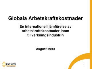 Kapitel  2 Arbetskraftskostnaden 2012